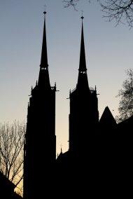 widok z Wrocławia